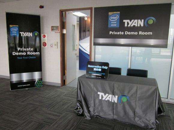TYAN Private Room at Computex 2013